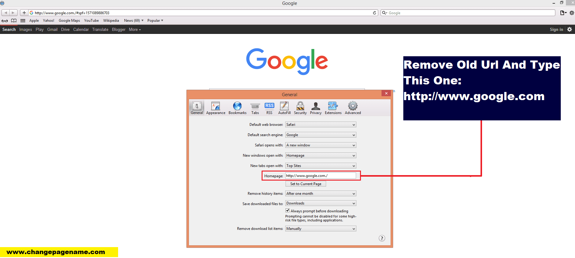 Easily How To Make Google As My Homepage On All Browsers